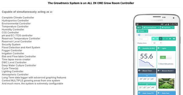 Growtronix - Best Grow Room Controller