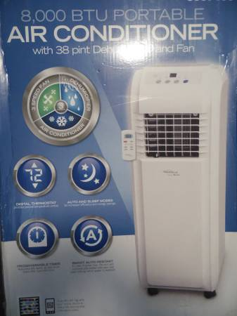 Half Price COOL New 8000 BTU Portable Air Conditioner